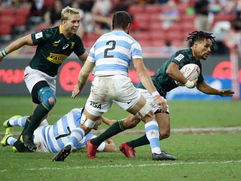 Singapore Sevens: BlitzBoks set up date with Kenya
