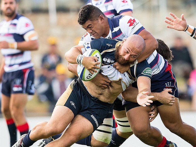 Brumbies give Rebels 50-point wake-up call