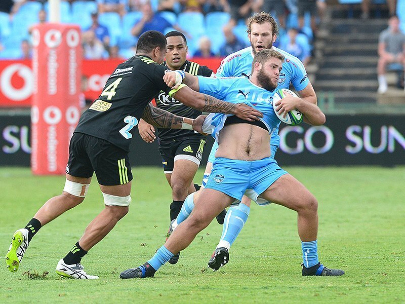 Brave Bulls battle past Hurricanes