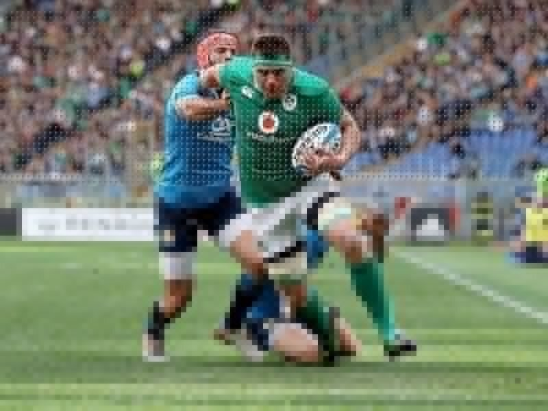 Stander shines for Ireland in Rome
