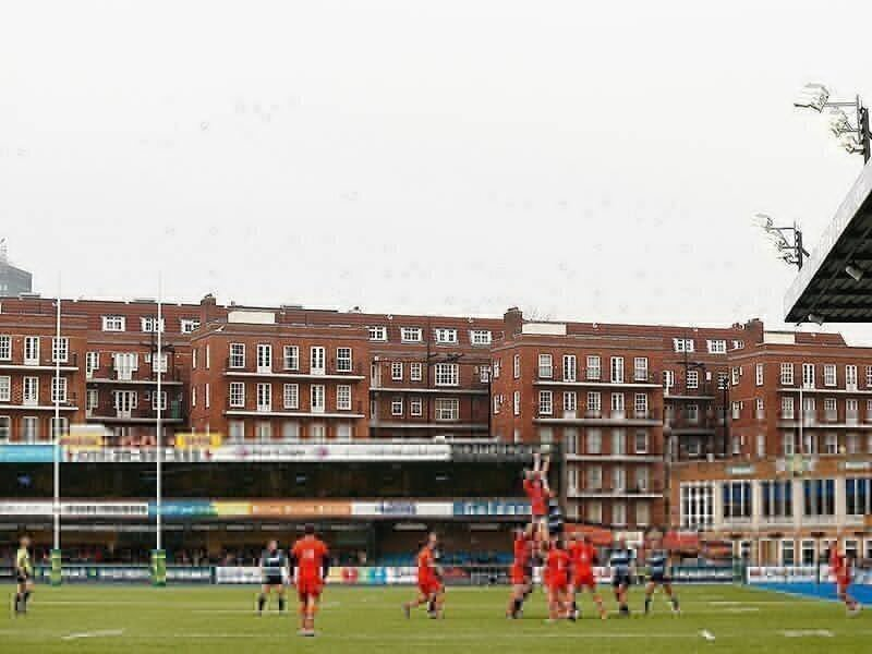Cardiff Arms Park Hospitalised