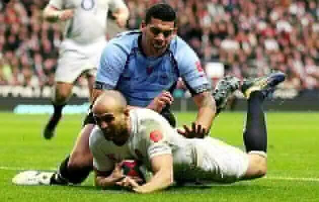 Seven-try England overpower Fiji
