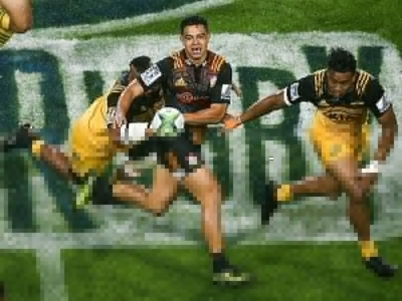 Chiefs outmuscle 'Canes in the rain