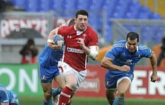 Wales sink tryless Italy