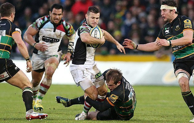 Quins collect early Christmas gift