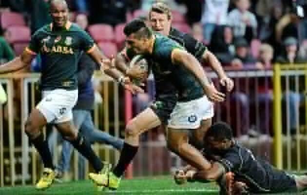 Springboks run World XV ragged