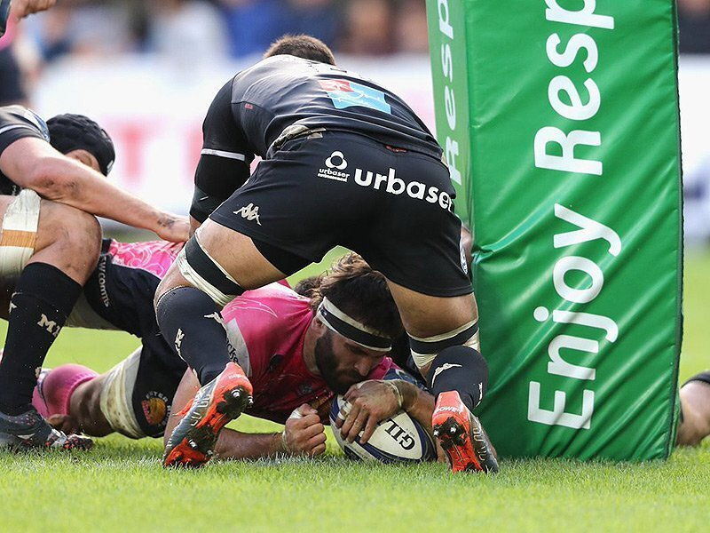 Armand double seals Exeter win
