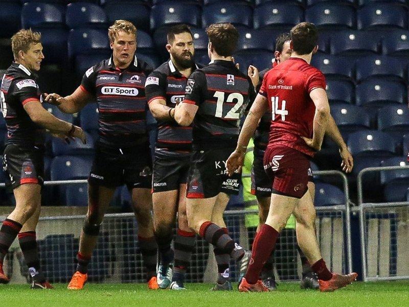 Van der Merwe steers Edinburgh to win over Munster