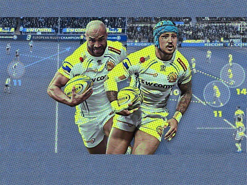 Analysis: How the Exeter Chiefs are revolutionising the wing position