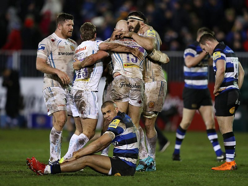 Exeter stretch lead at the top with dramatic victory