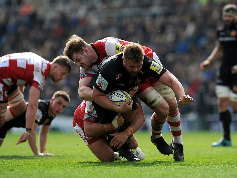 Chiefs thrash Gloucester to book play-off spot