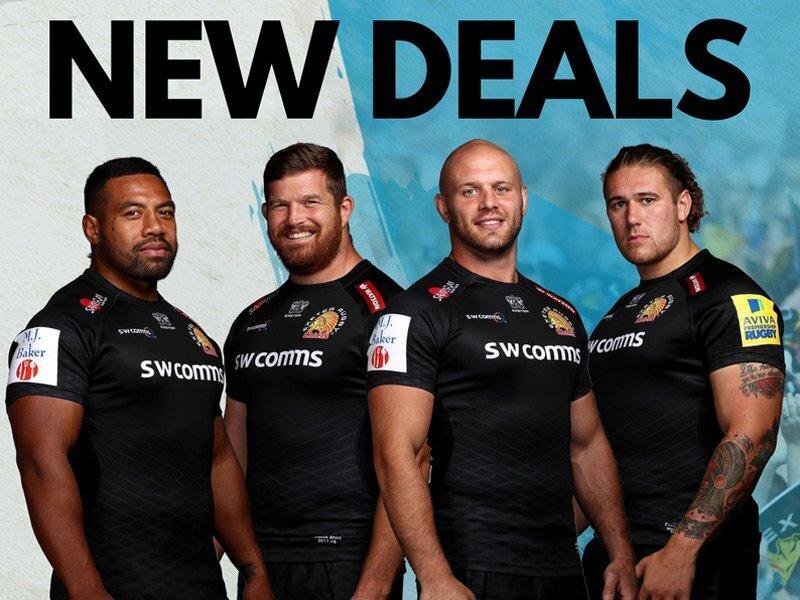 Exeter skipper seals new deal