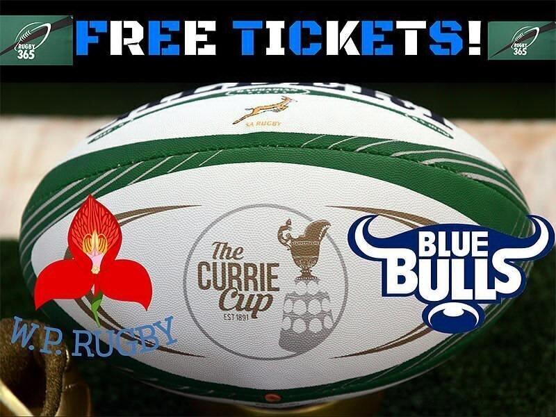 FREE TICKETS: Western Province v Blue Bulls