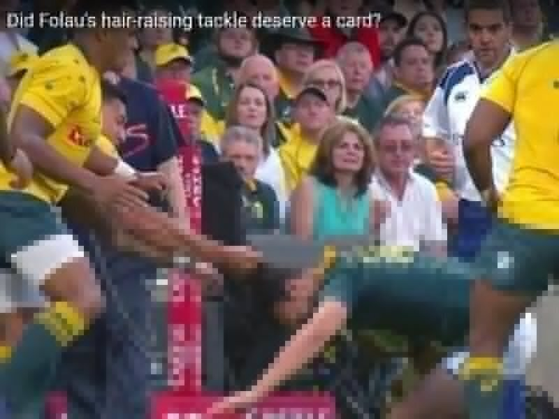 Wallabies going mental in Mendoza