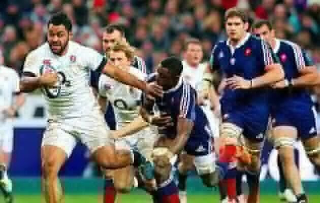 Late rally as France shock England