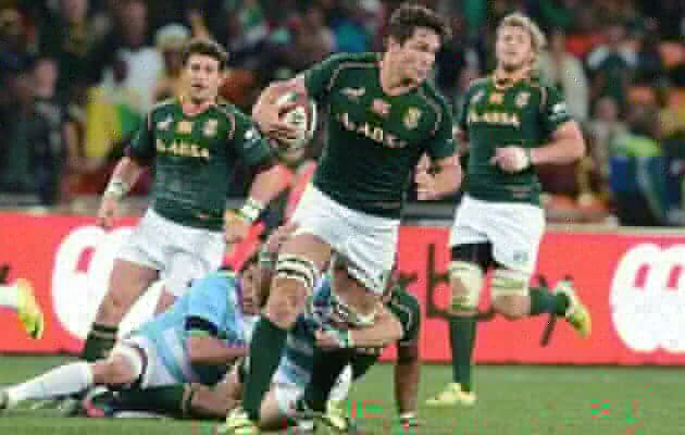 Lucky Louw won't miss Bok Tests
