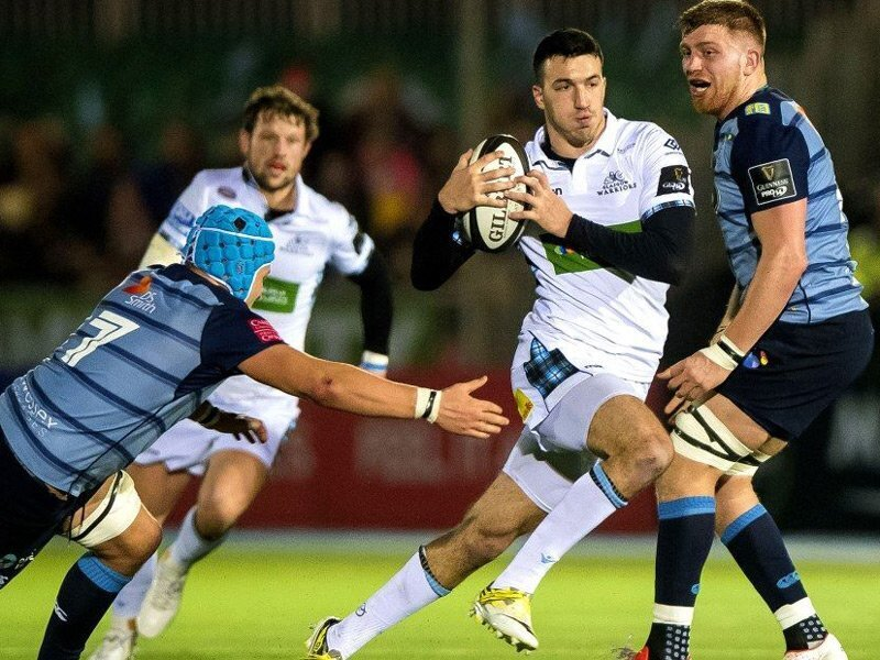 Glasgow punish 14-men Cardiff