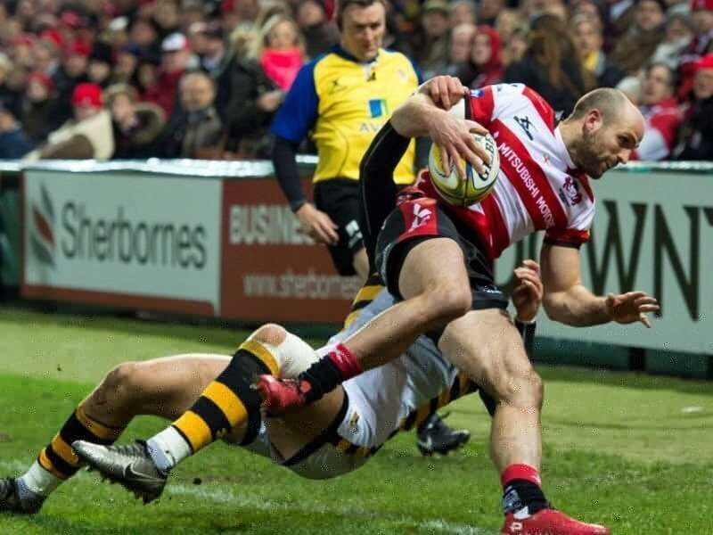 Gloucester outshine Wasps