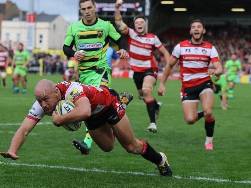 Gloucester halt Saints' winning run