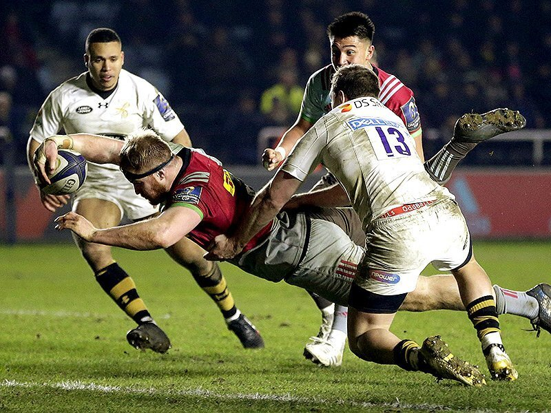 Quins come from behind to edge Wasps