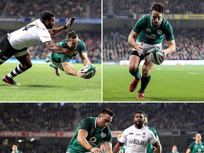 Fiji push Ireland to the limit
