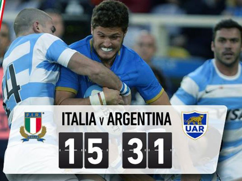 Argentina continue mastery over Italy