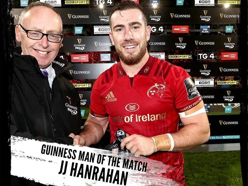 Hanrahan leads Munster to comfortable win