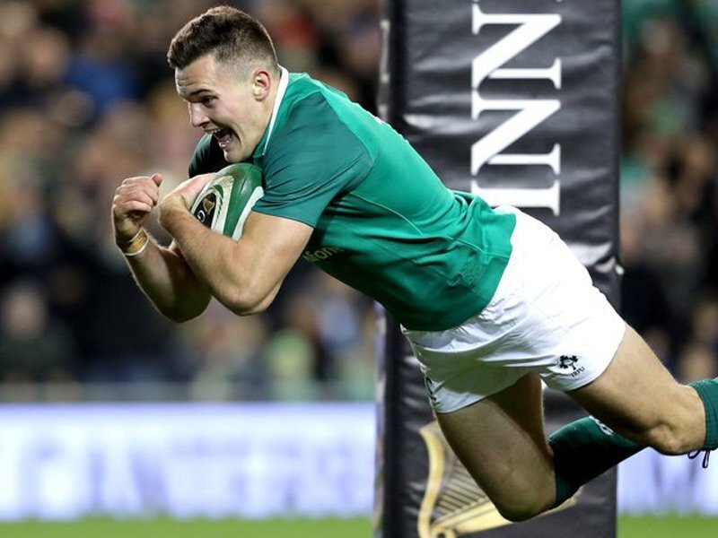 Ireland too good for Argentina