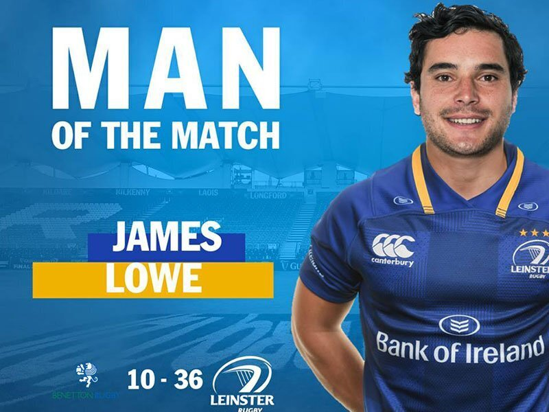 Lowe stars as Leinster beat Benetton