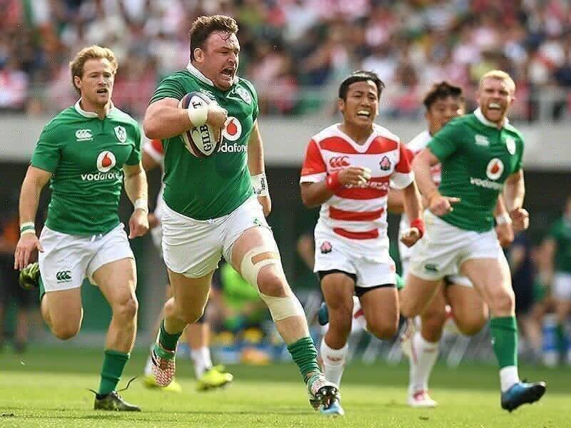 Ireland rack up 50 against Japan