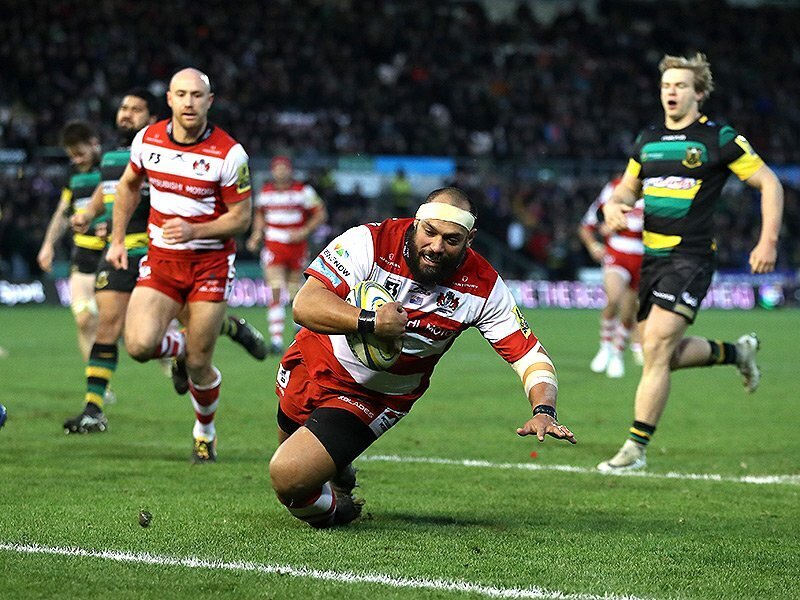 Controversial penalty try ends Saints' losing streak