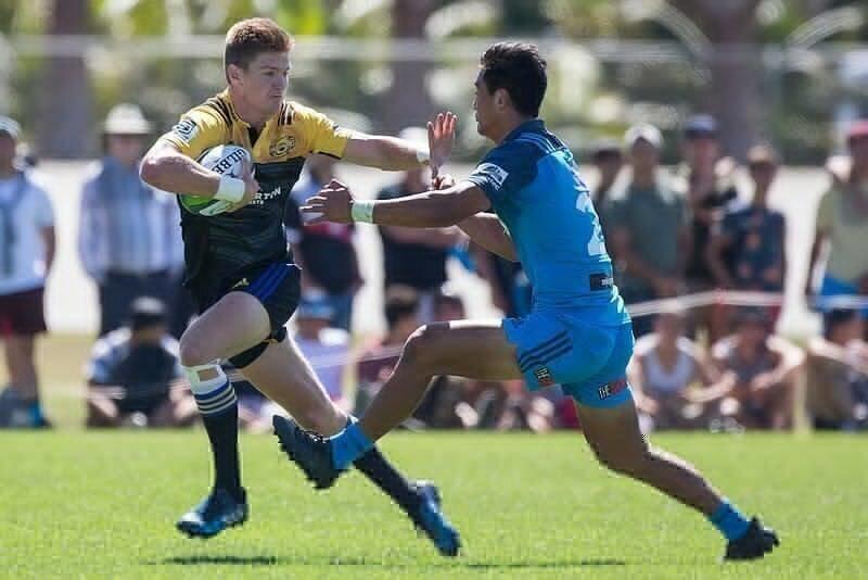 Barrett in NZ U20 squad