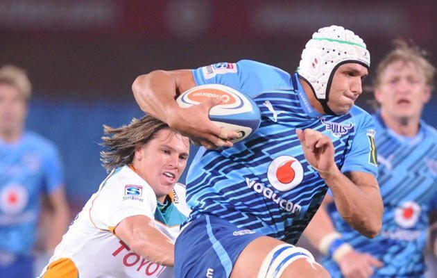 Bulls victorious in try-fest