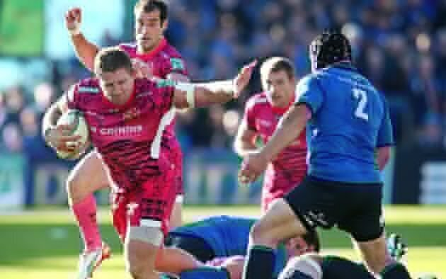 Champs Leinster scrape past Exeter