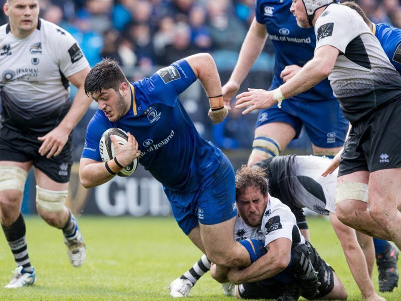 Leinster ease to seven-try win over Zebre