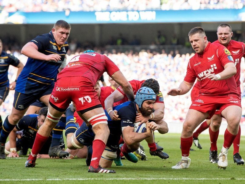 Leinster reach showpiece final after win over Scarlets