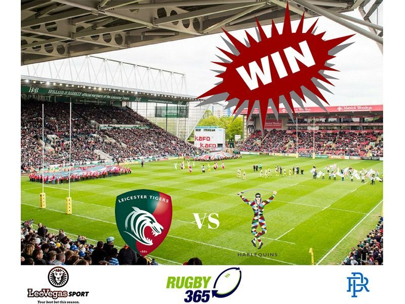 WIN tickets for the Premiership game between Leicester Tigers and Harlequins