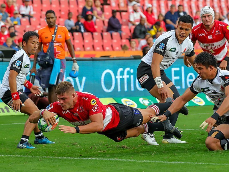 Sunwolves give Lions an almighty scare