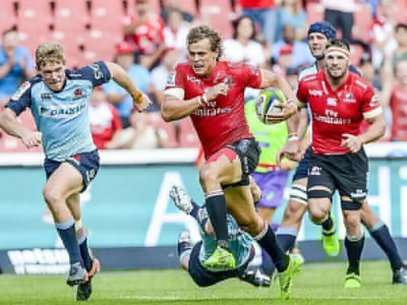 Lions win Ellis Park try-fest