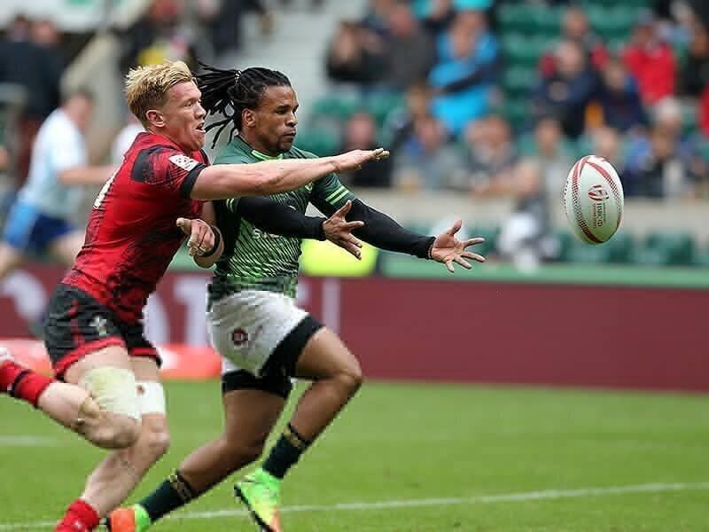 London 7s: Eagles soar past BlitzBoks; Fiji knocked out