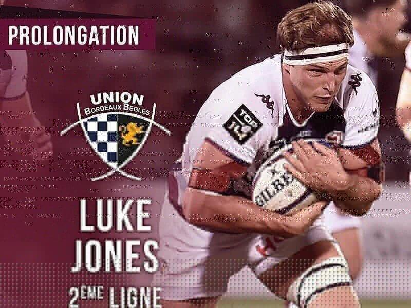 Jones extends Bordeaux contract