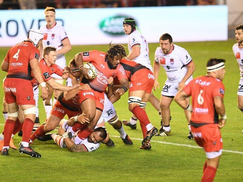 Lyon stun Toulon to make Top 14 semis