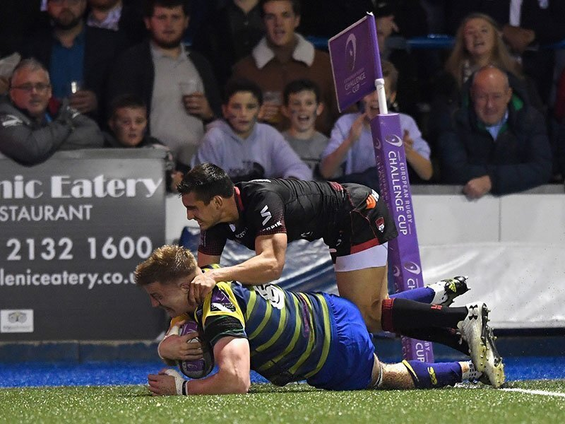 New Cardiff Blues deal for Cook