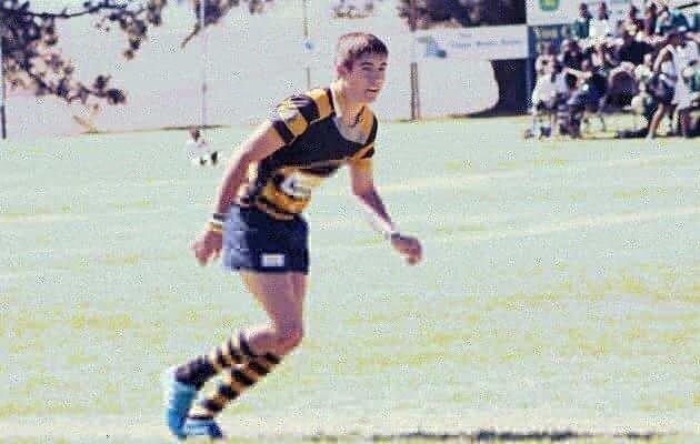 Weston captain - Michael Bauer