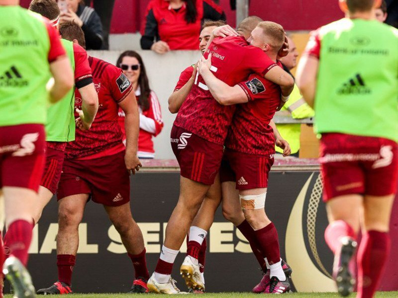 Departing Zebo sends Munster into semifinals