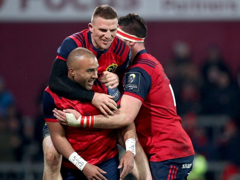 Munster power past Leicester