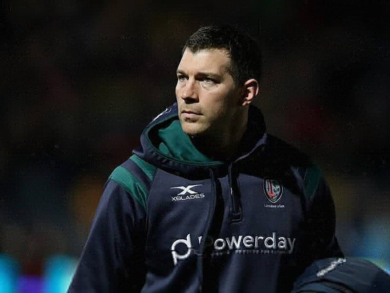 London Irish lose their Director of Rugby