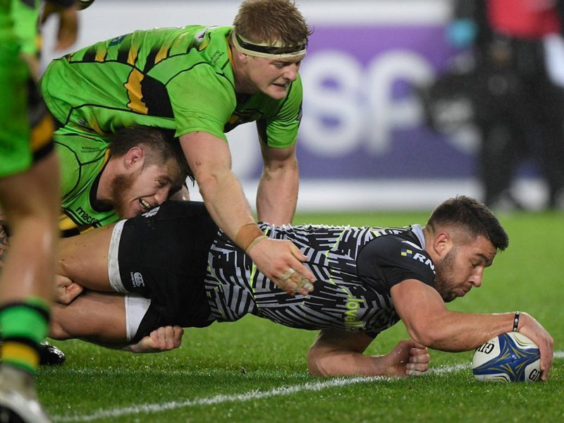 Ospreys up to second with Saints win
