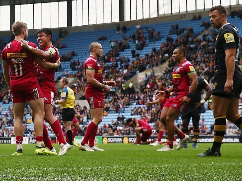 Quins pull Wasps' sting