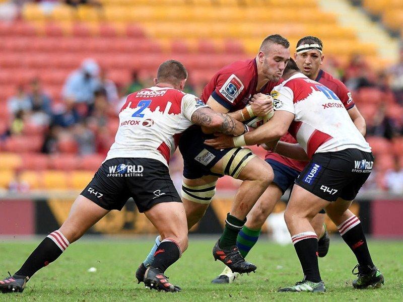 Reds stun log-leaders Lions